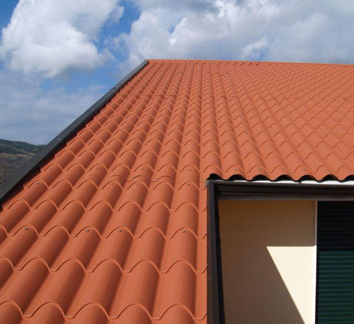 Coppo Alubel roof